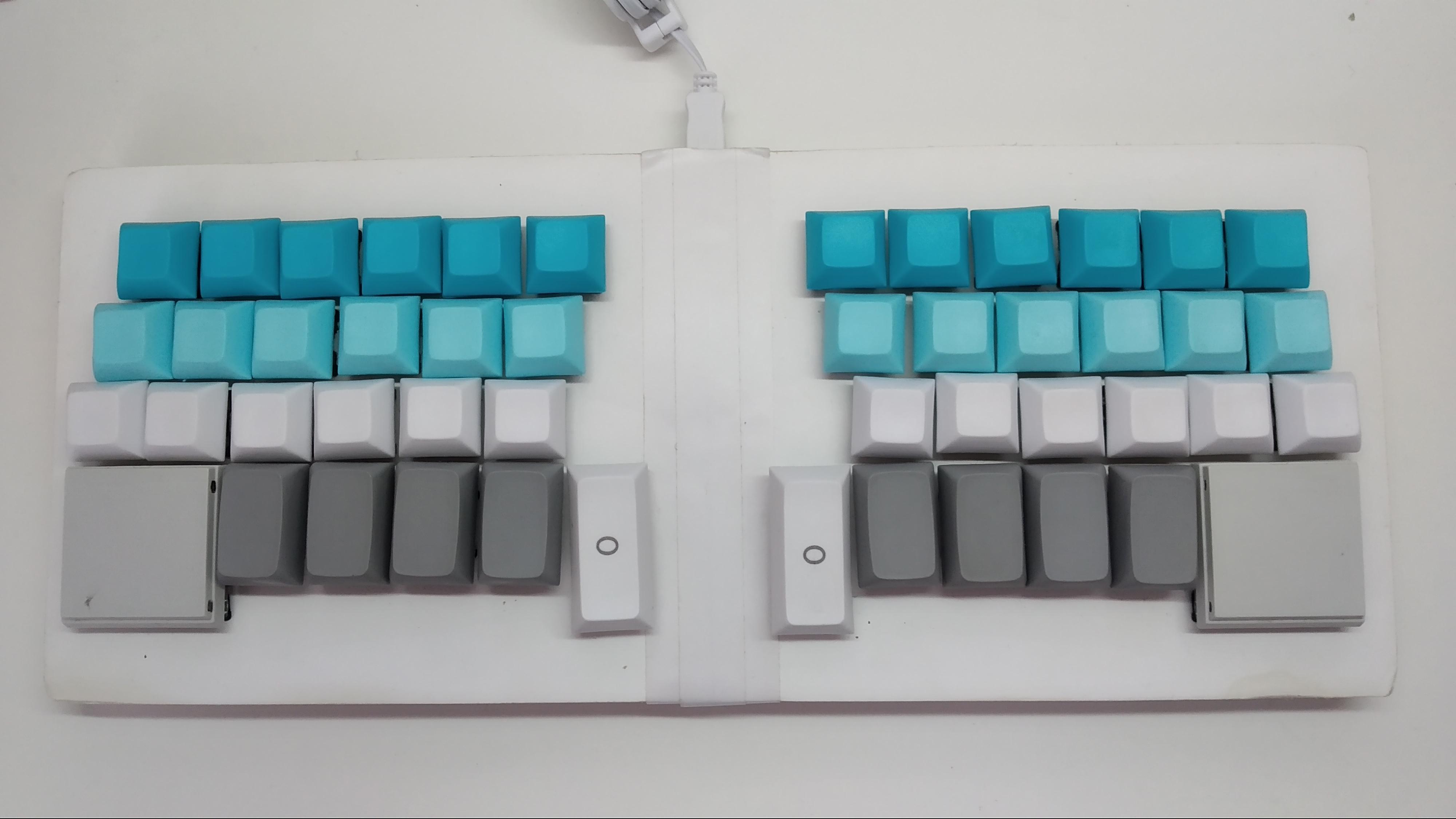 New keycaps
