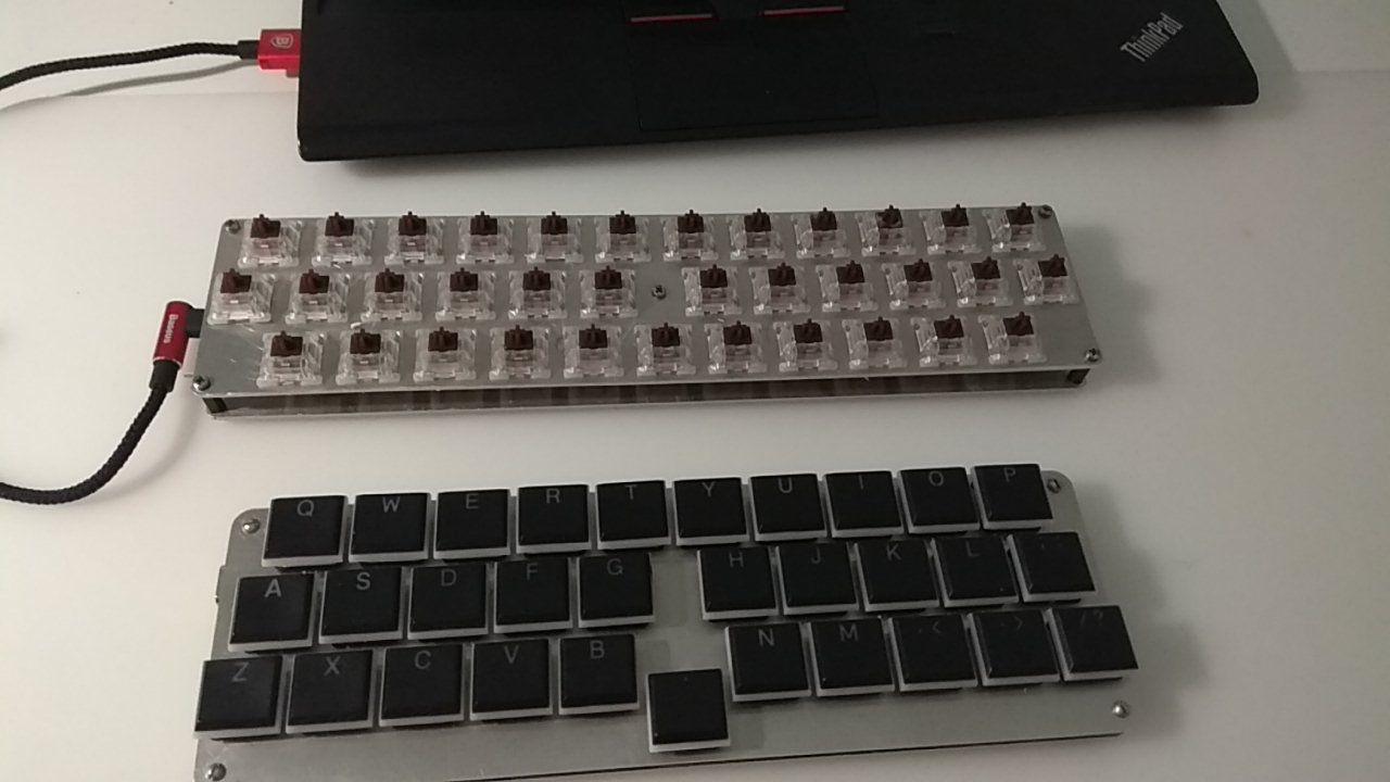 The Sequira keyboard · Уютная тумбочка